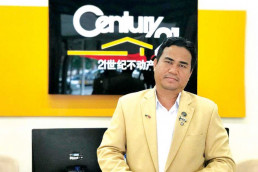 cambodian valuers and estate agents association cvea president chrek soknim talks about the kingdoms real estate sector. supplied