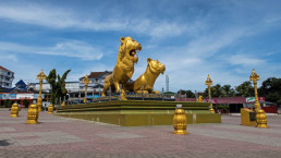 Sihanoukville Golden Lions Circle